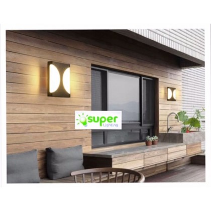 #wall light #12w Outdoor# wall lamp# outdoor led round garden light balcony moisture-proof waterproof lamps FND135