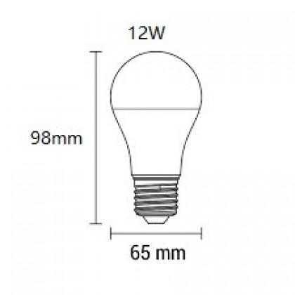 "12W HIGH QUALITY""DEN"" LED BULB E27 MENTOL LAMPU LED BULB DOWNLIGHT TABLE LAMP MENTOL  LAMPU MEJA LIGHT"