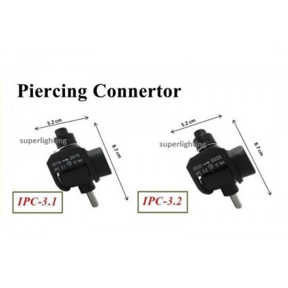 IPC Connector 3.1 3.2 / Insulation Piercing Connector / ABC Cable Clamp / ABC Connector